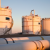 Wintershall Libya, oil export tanks at Jakhira